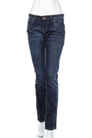 Дамски дънки Yessica, Размер M, Цвят Син, 77% памук, 21% полиестер, 2% еластан, Цена 28,35лв.