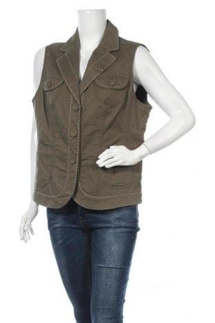 Γυναικείο γιλέκο Bonita, Μέγεθος XL, Χρώμα Πράσινο, 98% βαμβάκι, 2% ελαστάνη, Τιμή 11,69€