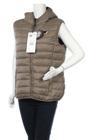Γυναικείο γιλέκο Stone goose, Μέγεθος XXL, Χρώμα  Μπέζ, Πολυαμίδη, πολυεστέρας, Τιμή 42,14€