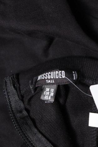 Дамски гащеризон Missguided, Размер M, Цвят Черен, 52% полиестер, 48% памук, Цена 26,46лв.