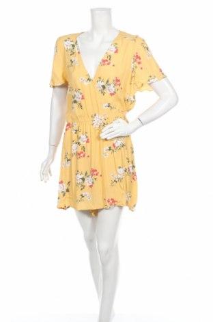 Дамски гащеризон Sportsgirl, Размер XL, Цвят Жълт, Вискоза, Цена 13,23лв.