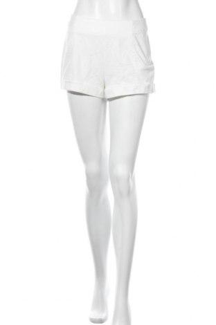 Дамски къс панталон Ambiance Apparel, Размер L, Цвят Бял, 98% памук, 2% еластан, Цена 6,84лв.