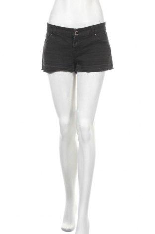 Дамски къс панталон Authentic Denim, Размер M, Цвят Черен, 74% памук, 25% полиестер, 1% еластан, Цена 7,31лв.