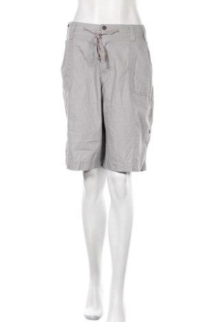 Γυναικείο κοντό παντελόνι Avella, Μέγεθος XL, Χρώμα Γκρί, Βαμβάκι, Τιμή 4,32€