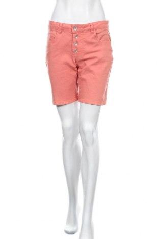 Дамски къс панталон Broadway, Размер S, Цвят Оранжев, 58% памук, 38% полиестер, 2% вискоза, 2% еластан, Цена 18,95лв.