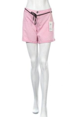 Γυναικείο κοντό παντελόνι Garcia, Μέγεθος XL, Χρώμα Ρόζ , 97% βαμβάκι, 3% ελαστάνη, Τιμή 20,68€