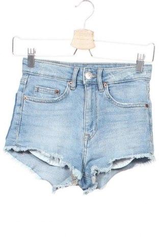 Γυναικείο κοντό παντελόνι H&M Divided, Μέγεθος XXS, Χρώμα Μπλέ, Τιμή 5,00€