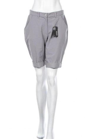 Дамски къс панталон Inoc, Размер M, Цвят Сив, 88% полиестер, 12% еластан, Цена 7,61лв.