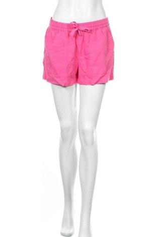 Γυναικείο κοντό παντελόνι J.Crew, Μέγεθος S, Χρώμα Ρόζ , 55% λινό, 45% lyocell, Τιμή 33,65€