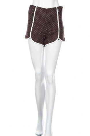 Дамски къс панталон Kling, Размер XS, Цвят Кафяв, Полиестер, Цена 9,80лв.