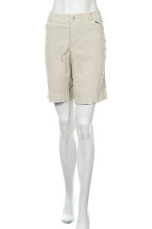 Дамски къс панталон NYDJ, Размер XL, Цвят Бежов, 97% памук, 3% еластан, Цена 35,28лв.