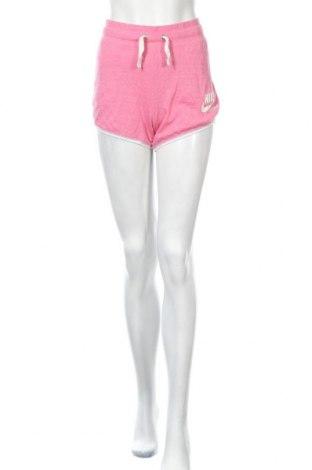 Dámské kraťasy  Nike, Velikost M, Barva Růžová, 60% bavlna, 40% polyester, Cena  393,00Kč