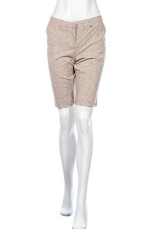 Дамски къс панталон Star City, Размер L, Цвят Бежов, 64% полиестер, 33% вискоза, 3% еластан, Цена 17,96лв.