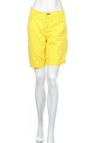 Γυναικείο κοντό παντελόνι Street One, Μέγεθος M, Χρώμα Κίτρινο, Βαμβάκι, Τιμή 15,91€