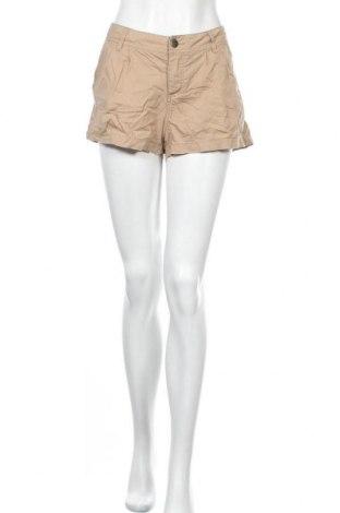 Дамски къс панталон Xxi, Размер L, Цвят Кафяв, 96% памук, 4% еластан, Цена 13,44лв.