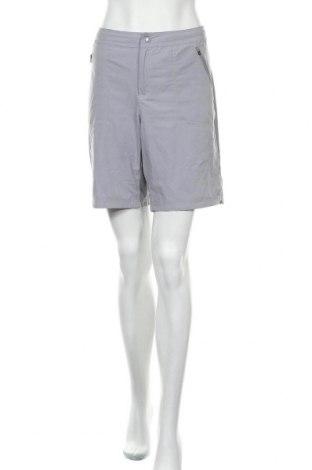 Γυναικείο κοντό παντελόνι ZeroXposur, Μέγεθος L, Χρώμα Γκρί, 90% πολυεστέρας, 10% ελαστάνη, Τιμή 11,04€