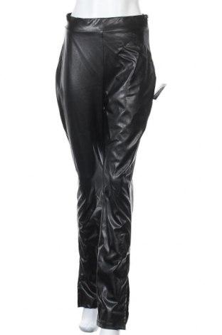 Дамски кожен панталон Nly Trend, Размер M, Цвят Черен, Еко кожа, Цена 43,52лв.