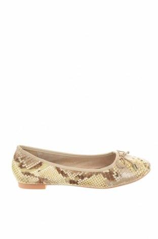 Dámské boty , Velikost 37, Barva Béžová, Pravá kůže, Cena  674,00Kč
