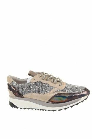 Dámské boty  Bronx, Velikost 39, Barva Šedá, Textile , Eko kůže, Přírodní velur , Cena  976,00Kč