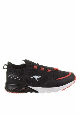 Γυναικεία παπούτσια Kangaroos, Μέγεθος 39, Χρώμα Μαύρο, Δερματίνη, κλωστοϋφαντουργικά προϊόντα, πολυουρεθάνης, Τιμή 46,01€