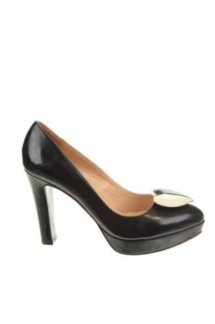 Γυναικεία παπούτσια Love Moschino, Μέγεθος 37, Χρώμα Εκρού, Γνήσιο δέρμα, Τιμή 91,67€