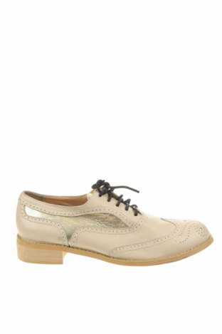 Dámské boty , Velikost 37, Barva Béžová, Pravá kůže, Cena  833,00Kč
