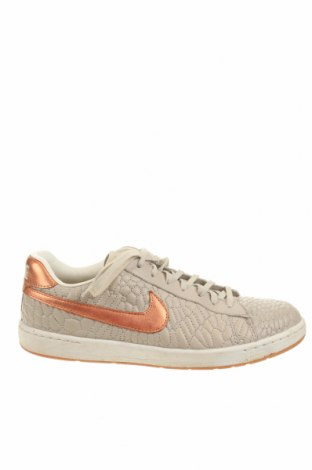 Дамски обувки Nike, Размер 39, Цвят Бежов, Естествена кожа, Цена 68,00лв.