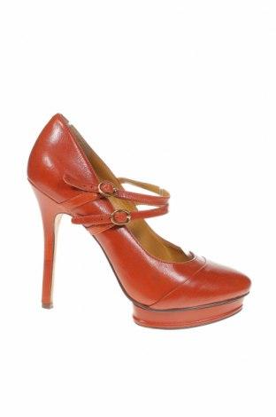 Дамски обувки Nine West, Размер 38, Цвят Кафяв, Естествена кожа, Цена 82,00лв.
