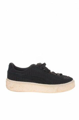 Дамски обувки PUMA, Размер 37, Цвят Черен, Текстил, естествен велур, Цена 64,00лв.