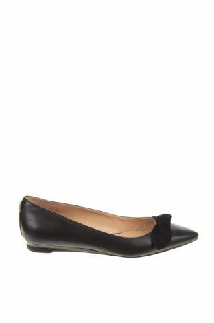 Дамски обувки Ralph Lauren, Размер 38, Цвят Черен, Естествена кожа, естествен велур, Цена 82,00лв.