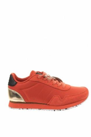 Дамски обувки Woden, Размер 37, Цвят Оранжев, Текстил, Цена 111,75лв.