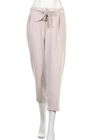 Дамски панталон ASOS, Размер 3XL, Цвят Бежов, 73% полиестер, 20% вискоза, 7% еластан, Цена 61,95лв.