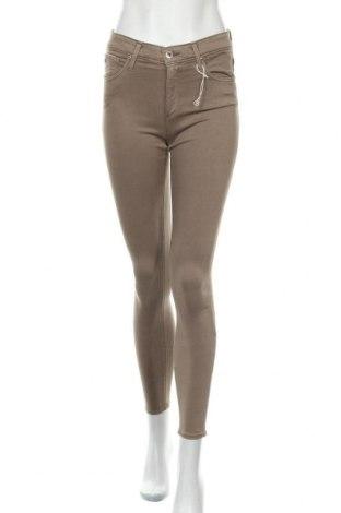 Дамски панталон Adriano Goldschmied, Размер S, Цвят Кафяв, 60% памук, 30% модал, 8% полиестер, 2% полиуретан, Цена 16,16лв.