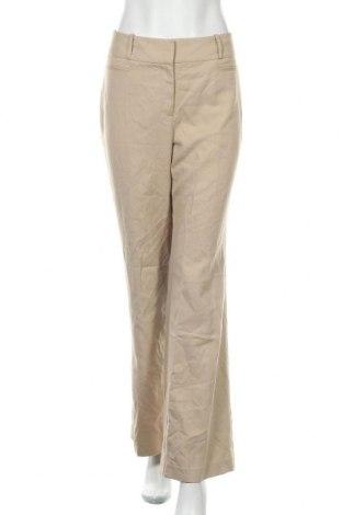 Γυναικείο παντελόνι Ann Taylor, Μέγεθος M, Χρώμα  Μπέζ, 65% πολυεστέρας, 35% βισκόζη, Τιμή 54,91€