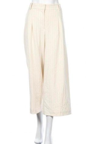 Γυναικείο παντελόνι Ann Taylor, Μέγεθος L, Χρώμα  Μπέζ, 62% πολυεστέρας, 32% βισκόζη, 6% ελαστάνη, Τιμή 21,44€