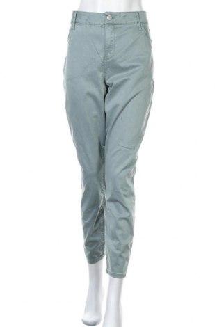 Дамски панталон Ava & Viv, Размер XXL, Цвят Зелен, 68% памук, 30% тенсел, 2% еластан, Цена 38,85лв.