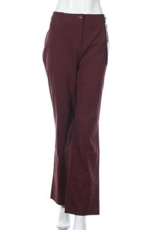 Дамски панталон Biaggini, Размер XXL, Цвят Лилав, 70% вискоза, 27% полиамид, 3% еластан, Цена 29,93лв.