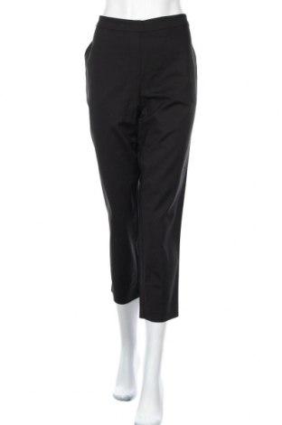 Дамски панталон Blue Illusion, Размер L, Цвят Черен, 50% памук, 46% полиамид, 4% еластан, Цена 19,85лв.