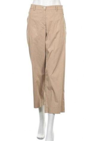 Γυναικείο παντελόνι Brax, Μέγεθος XL, Χρώμα  Μπέζ, 75% βαμβάκι, 22% πολυαμίδη, 3% ελαστάνη, Τιμή 57,60€