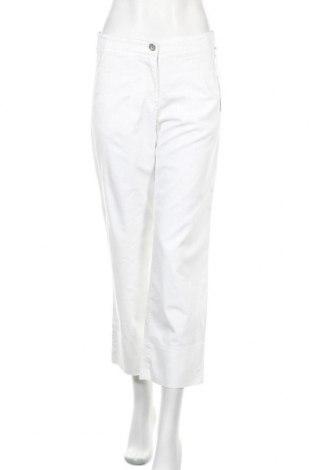 Γυναικείο παντελόνι Brax, Μέγεθος S, Χρώμα Λευκό, 80% βαμβάκι, 18% πολυεστέρας, 2% ελαστάνη, Τιμή 53,74€