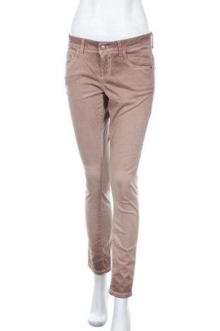 Дамски панталон Cambio, Размер M, Цвят Кафяв, 77% памук, 20% вискоза, 3% полиуретан, Цена 12,29лв.