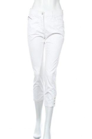 Дамски панталон Canda, Размер S, Цвят Бял, 98% памук, 2% еластан, Цена 8,95лв.