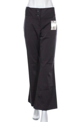 Дамски панталон Casa Blanca, Размер L, Цвят Черен, 97% полиестер, 3% еластан, Цена 11,19лв.