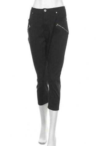Дамски панталон Cellbes, Размер XXL, Цвят Черен, 98% памук, 2% еластан, Цена 24,94лв.