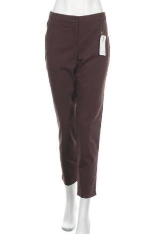 Дамски панталон Christian Berg, Размер M, Цвят Кафяв, 53% памук, 44% полиестер, 3% еластан, Цена 24,15лв.