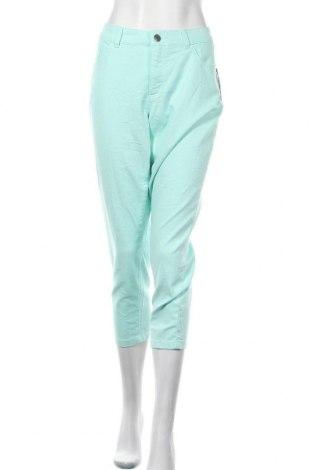Γυναικείο παντελόνι Christopher & Banks, Μέγεθος XL, Χρώμα Πράσινο, 76% βαμβάκι, 22% πολυεστέρας, 2% ελαστάνη, Τιμή 21,53€