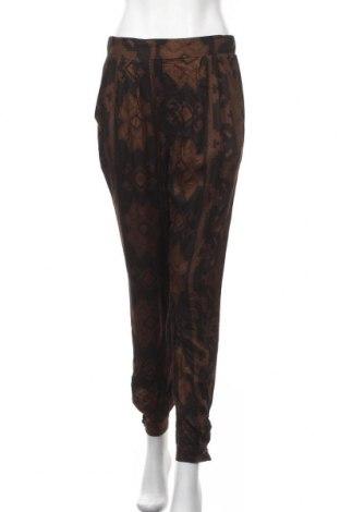 Дамски панталон Desigual, Размер M, Цвят Кафяв, Вискоза, Цена 94,17лв.