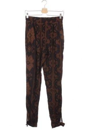 Дамски панталон Desigual, Размер XS, Цвят Кафяв, Вискоза, Цена 101,47лв.