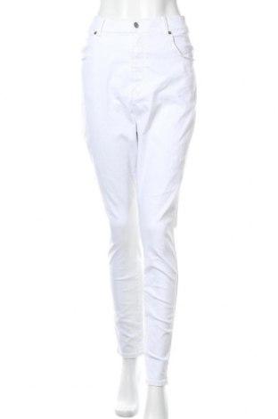 Γυναικείο παντελόνι Dr. Denim, Μέγεθος XXL, Χρώμα Λευκό, 98% βαμβάκι, 2% ελαστάνη, Τιμή 14,72€