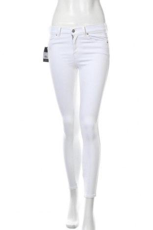 Γυναικείο παντελόνι Dr. Denim, Μέγεθος S, Χρώμα Λευκό, 98% βαμβάκι, 2% ελαστάνη, Τιμή 21,34€